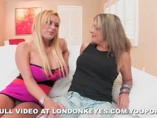 London Keyes, Shyla Stylez, and Lexi !!