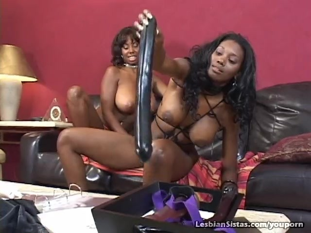 Black Girls Riding Dildo