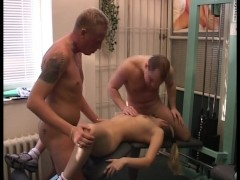 Picture Thighting her groin muscles to cum easy