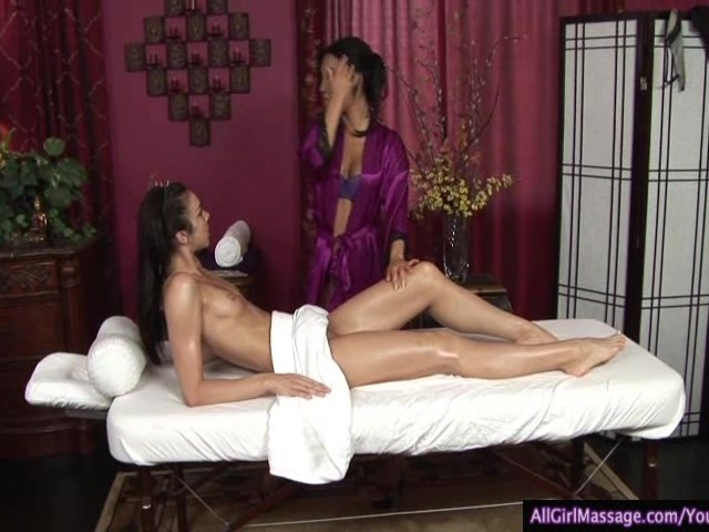 All Girl Massage Mom Daughter