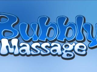 Hunter Bryce Giving Bubbly Massage And Handjob