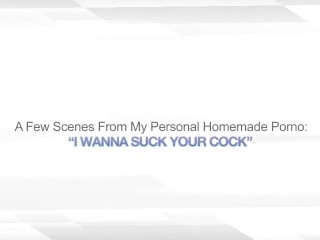 I WANNA SUCK YOUR COCK – HUGE FACIAL CUMSHOT WIFE
