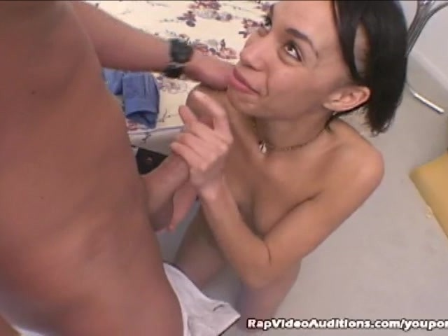 White Swallows Black Cum