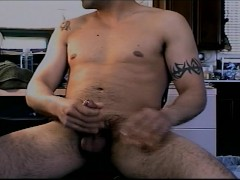 Picture Horny guy gets dick warmed up for his friend