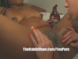 Ebony whore along with Ivory Lesbian Freaknick