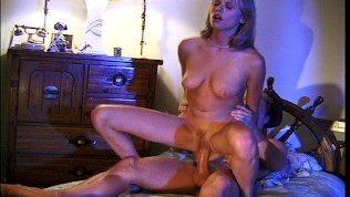 Step sister helps step brother get off (clip)