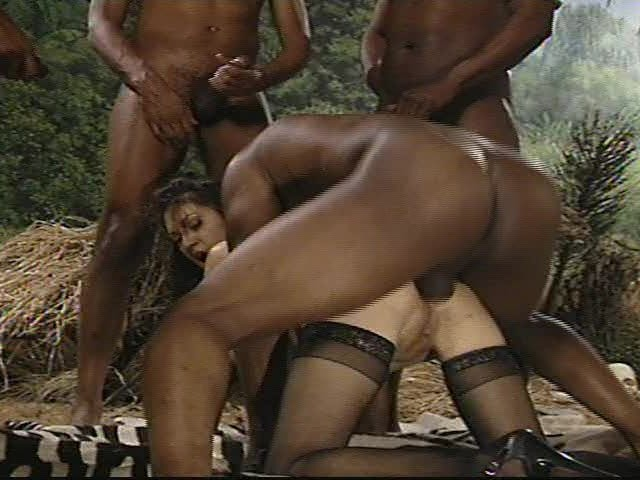 Gang Bang In The Jungle - Free Porn Videos - Youporn-4525
