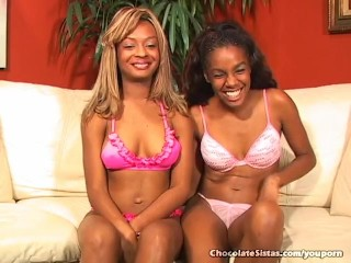 Young Hot Black Girls Licking Pussy