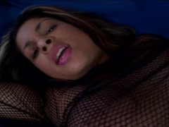 Picture Beautiful brunette sucks a thick dick