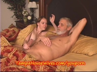 Two YOUNG Housewives HAND Job and BLOW Job