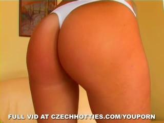 Czech Hottie Delivers