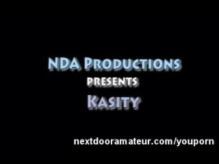 Kassity Pretty Amateur Fucking and Sucking Cock