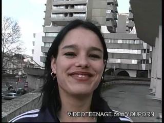 18yo girl first porno casting