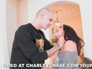 Super Hardcore Face Fucking on Charley Chase