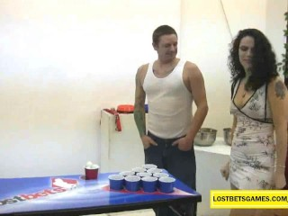 2 amateur couples playing sex games