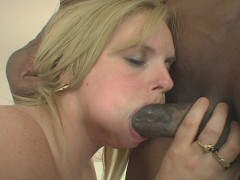 Picture White girl likes her some choco-dick-dick