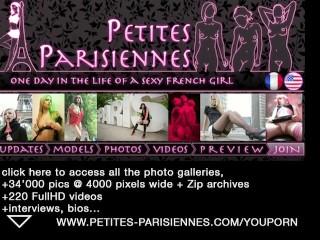 french model under shower (voyeur)