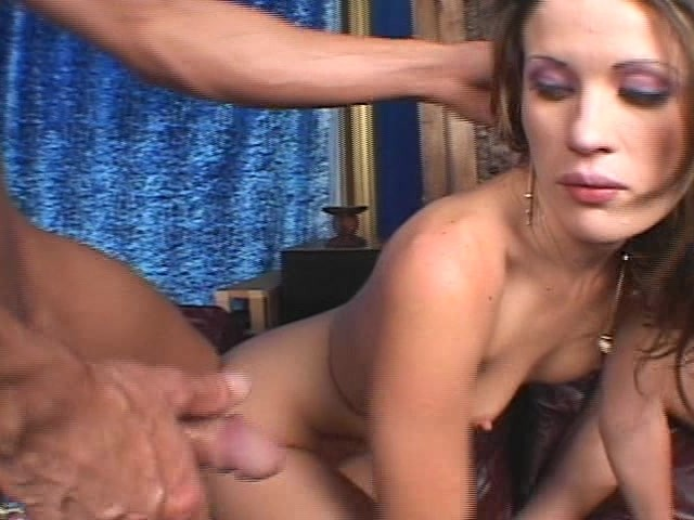 Slut Takes Two Big Dicks