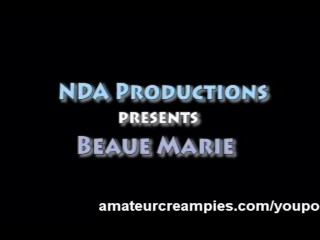 Beau Marie Cute Brunette Fucked Hard