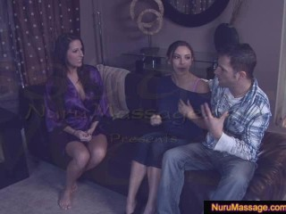 Danni lets her boyfriend cum in her mouth