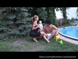 Blonde Fucks Guy With Strap On