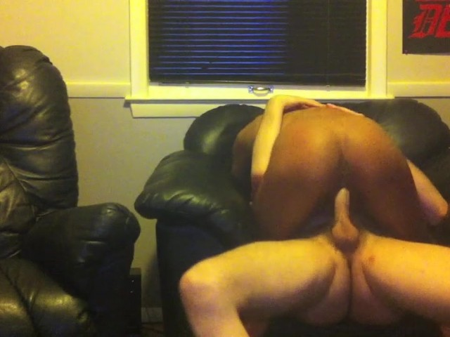 Ebony Riding Dick Creampie
