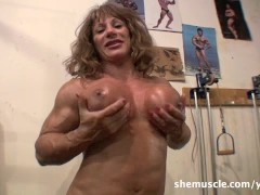 Picture Wild Kat - SheMuscle - Crazy in the Gym