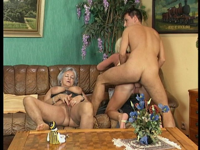 German Mature Anal Dildo