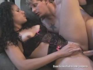 Ronn Deep and Asia Cream Shoot A Porno At Home
