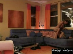 Picture Hot blonde wife cheating with neighbor