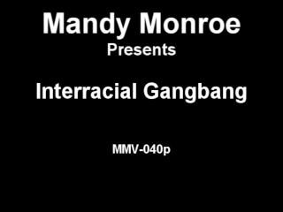 Interracial Creampie Gangbang