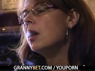Busty mom is picked up in the bar and fucked