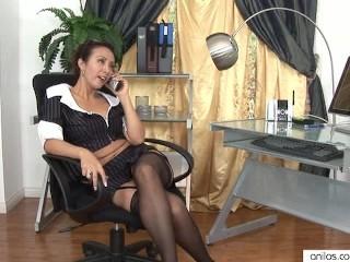 Milf office sex with boss