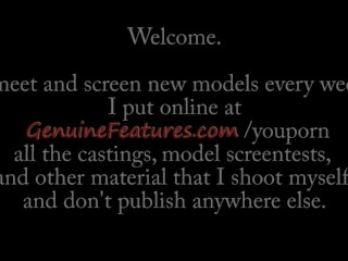 Interview/teen/casting teen real during