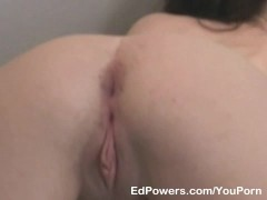 Picture Sexy coed loves the anal exercise