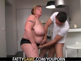 Hot BBW sex after a bottle of wine - 12