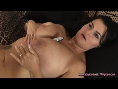 Picture Horny big natural breast MILF