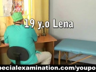 Cute girl passes medical examination - 1