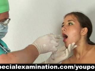 Cute girl passes medical examination - 14