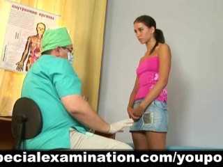 Cute girl passes medical examination - 2
