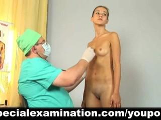 Cute girl passes medical examination - 7