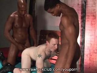 Interracial 3way - 15