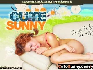 Cute Sunny Anal Fucked!