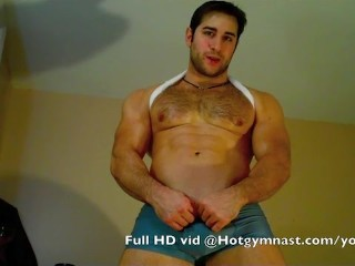Young Cumming muscle stud! - 11
