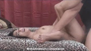 Hot amateur gives rimjob and gets facial