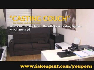 FakeAgent Wanna be model aces casting interview