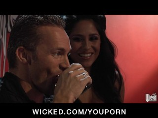 Busty Latina slut Pornstar Jenaveve Jolie is fucked by hard cock