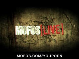 MOFOS LIVE SEX SHOW 6 with Emily Addison, Celeste Star & Alicia Secrets