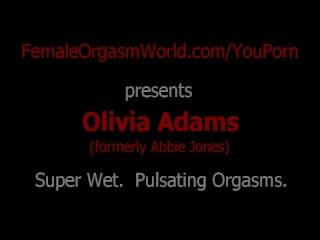 Soaking Wet Panties, Dripping Pussy, Pulsating Orgasms