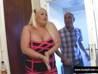 British Big Tits Slut Sindy Getting Fucked